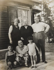 Familie Jacob in Groß Glienicke 1930